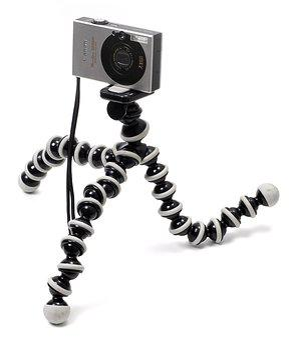 Gorillapod, With, Camera