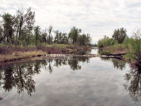 Beaver Dam, Alberta, Canada, River System