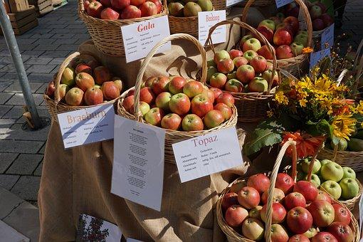 Apple, Eat, Vitamins, Variety, Art, Delicious, Market