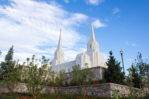 Temple, Lds, Lds Temple, Mormon, Religion, Architecture