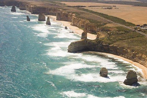 Australia, Victoria, Great Ocean Road, Landscape