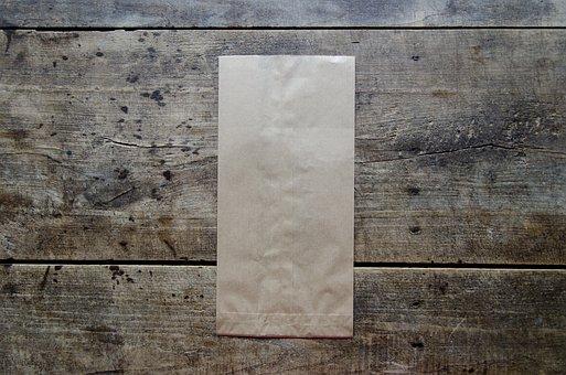 Brown Paper Bag, Bag, Paper, Brown, Paper Bag, Blank
