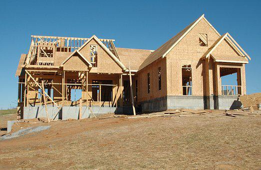Industry, Construction, Build, Wood Frame, Outdoors