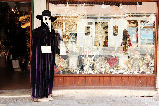 Masks, Carnival, Venice, Business, Buy Masks