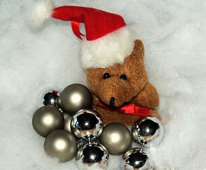Christmas, Christmas Bear, Snow, Christmas Eve