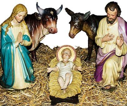 Crib, Christmas, Christmas Eve, Nativity Scene