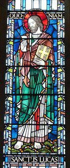 Church, Window, Church Window, Apostle, Lukas
