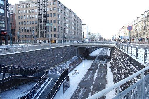Helsinki, Finland, City, The City Lunacy, Bridge
