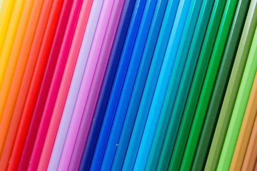 Colored Pencils, Colorful, Color, Achieve, Background