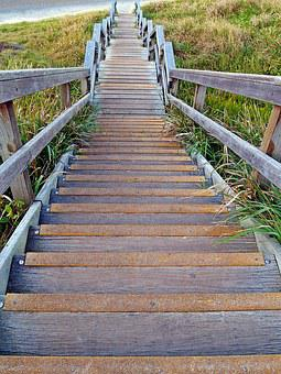 Stairs, Steps, Staircase, Outdoors, Down, Tread
