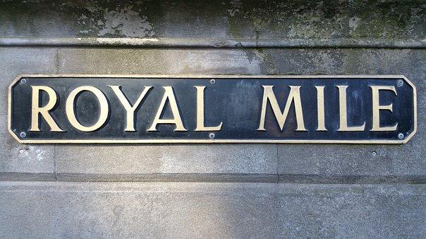 Edinburgh, Scotland, Royal Mile