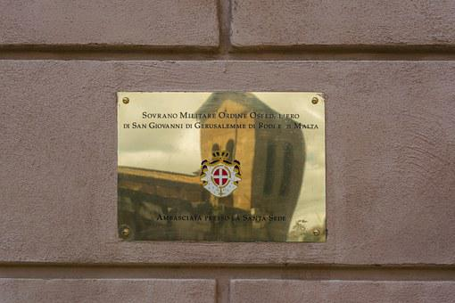 Embassy, The Order Of Malta, Rome, Italy