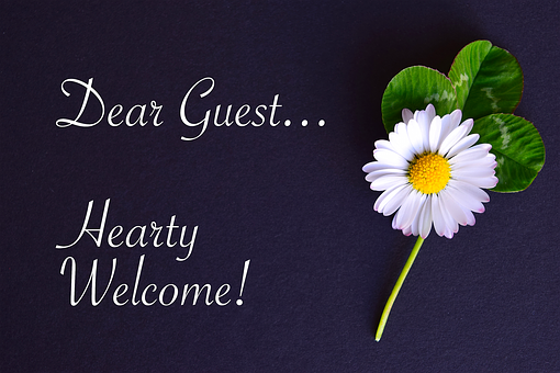 Embassy, Map, Welcome, Guest, Geese Flower