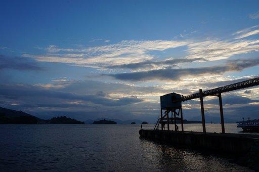Republic Of Korea, Glow, Sunset, Cloud, Sea, Coastal