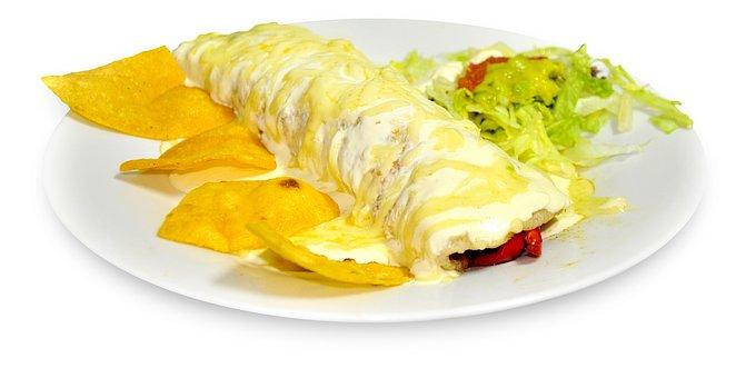 Burrito Gratin, Nachos, Gratin, Food, Mexican