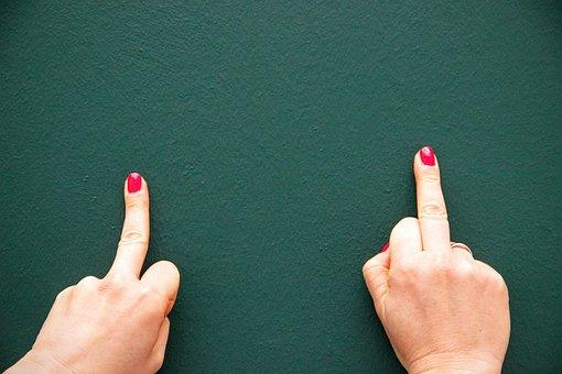 Hands, Green, Wall, Wallpaper, Background