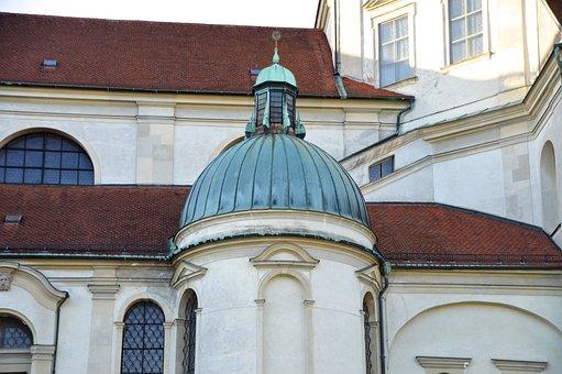 Dome, Basilica, Kempten, Church Roof, Architecture