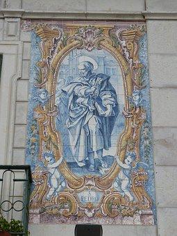 Peter, Apostle, Church, Faith, Image, Tile, Art, Key