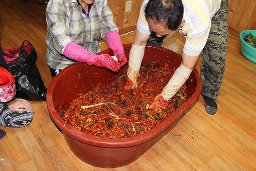 Kim Jang, Kim Jang-chul, Sauerkraut Dip, Kimchi Making