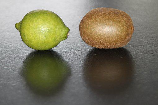 Lemon, Kiwi, Fruits, Food, Fresh, Lifestyle, Eating