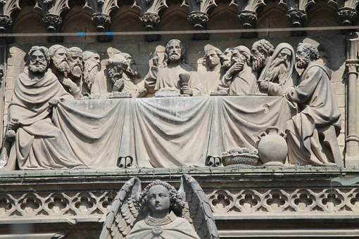 Last Supper, Cologne Cathedral, Portal, Cologne