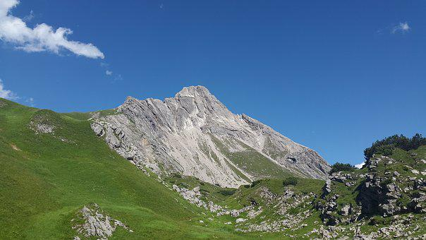 Beaver Head, Lech Valley, Mountain, Alpine, Bergtour