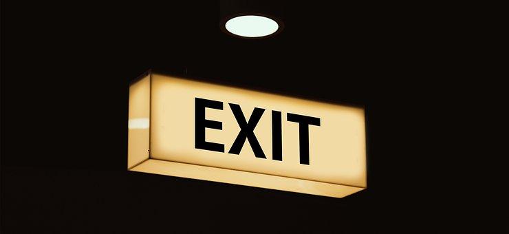 Leuchtkasten, Shield, Output, Note, Emergency Exit