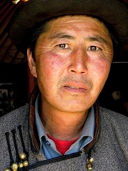 Mongolia, Travel, Nomadic, Gobi Desert, Steppe, Man