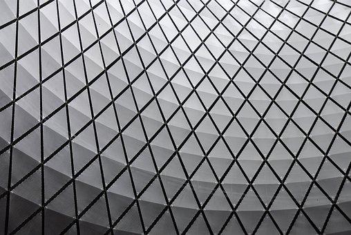 Abstract, Pattern, Architecture, Minimal, Fulton Center