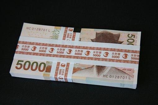 Money, Bills, Don, 5000 Usd, Five Thousand Usd