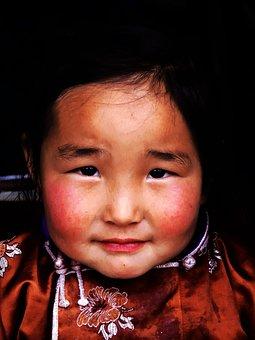 Mongolia, Travel, Nomadic, Gobi Desert, Steppe, Child