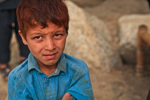 Boy, Poor, Afraid, Fear, Sad, Person, Child, War