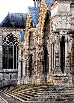 Chartres, Cathedral, Porch, Portal, Apostles