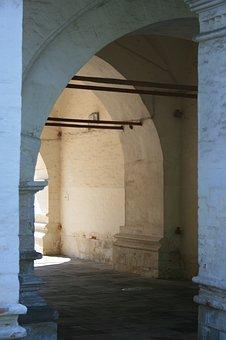 Architecture, Russian, Archways, Twelve Apostles Church