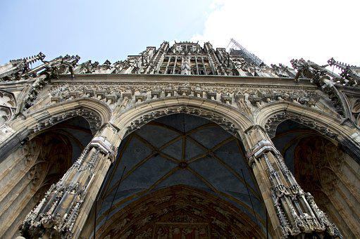 Ulm Cathedral, Site, Scaffolding, Height, Church