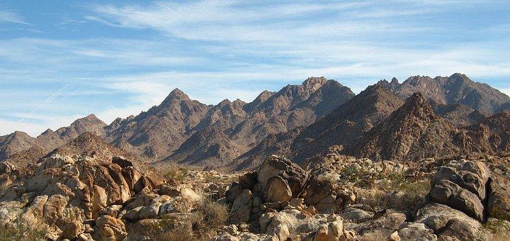 Mountain, Sky, Rocks, Hiking, Camping, Nature