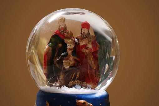 Snow Ball, Christmas, Holy Three Kings, Christmas Eve