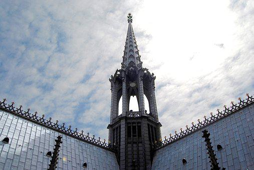 Spire, Mid Tower, Observation Tower, Gothic, Cologne