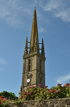 Church, Tower, Church Tower, Rush Hour, Spire, Religion