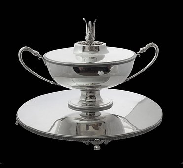 Sterling Silver Flatware, Sterling Silver Candelabra