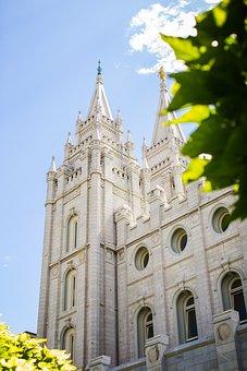 Temple, Lds, Salt Lake City, Holy, Church, Building