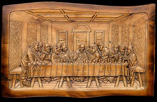 The Last Supper, The Cenacle, Jesus, The Apostles