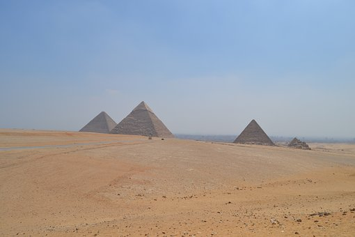 Pyramids, Egypt, Pharaohs, Old Civilization, Tombs