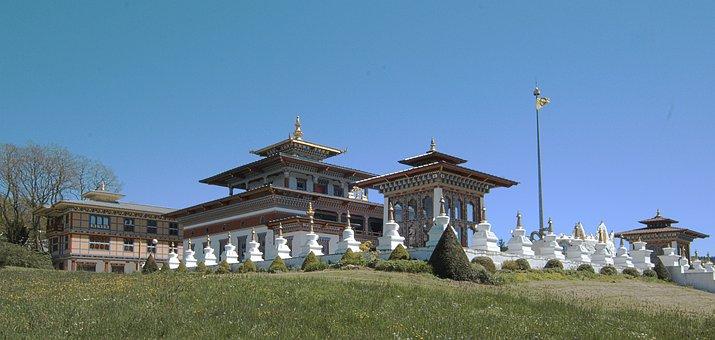 Temple, Buddhist, Thousand Buddhas, Toulon On Arroux