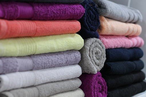 Towels, Linens, Store, Bath Linen, White, Travel