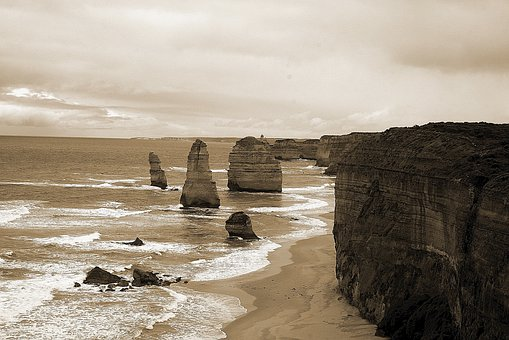 Australia, Twelve Apostles, Port Campbell National Park