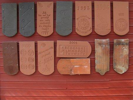 Brick, Tile, Year Brick, Wall, Red