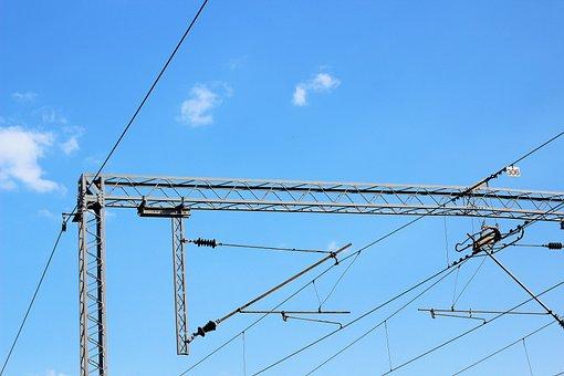 Railway, Train, Electricity, 25000, Volt, Danger
