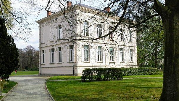 House, Castle, Antwerp, Ekeren, Bist