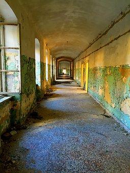 Empty, Old, Building, Vintage, Design, Retro, Blank